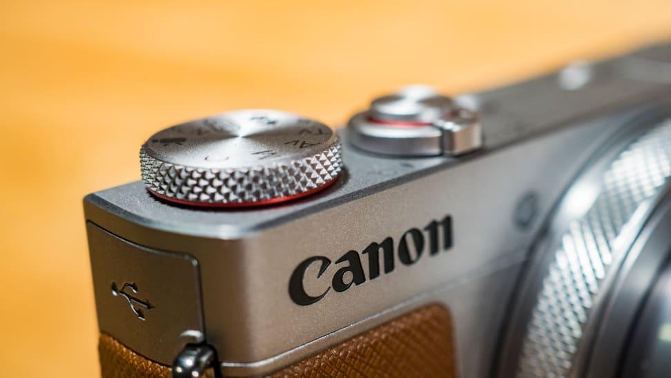 Canon G9 X Mark II Controls