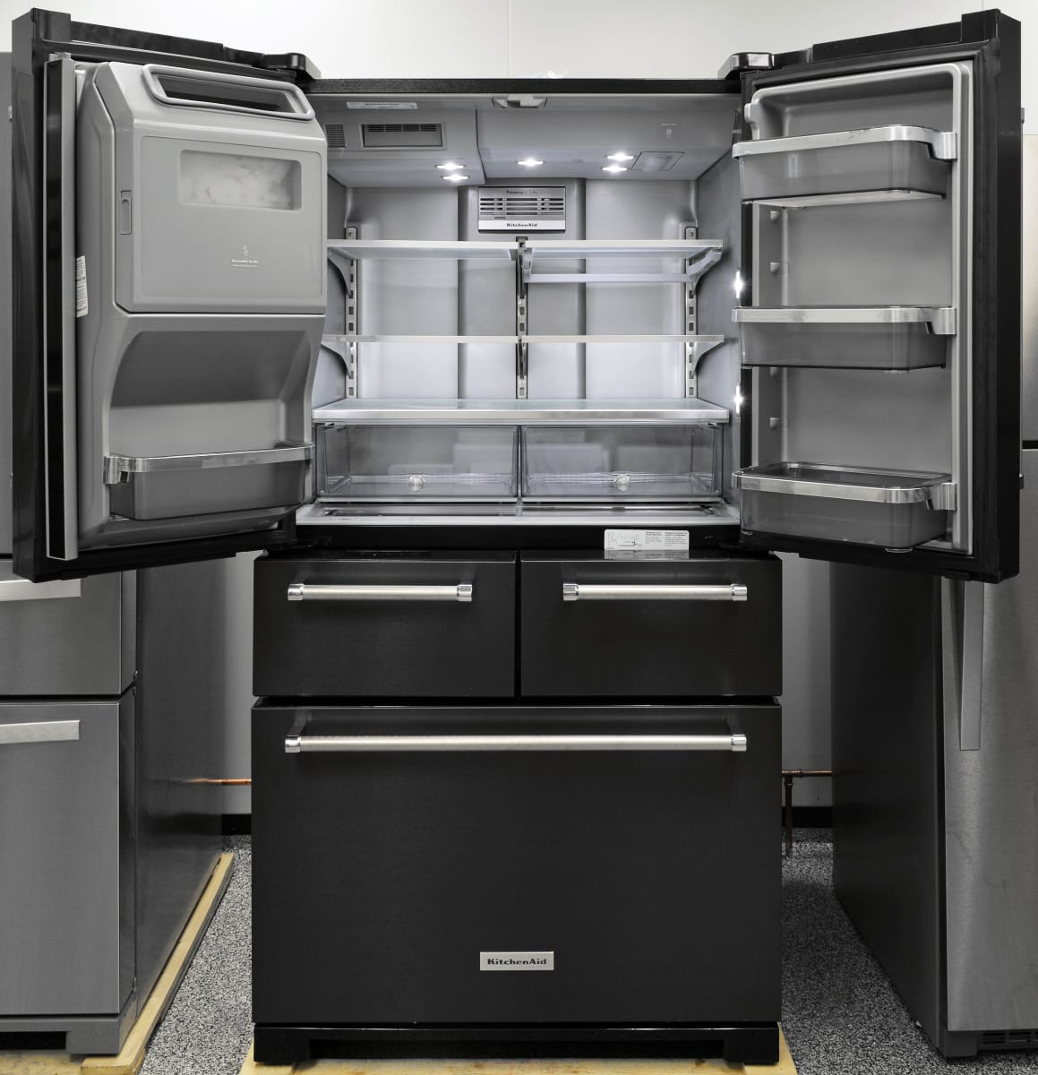 This Massive Five Door Fridge Is Both Roomy And Gorgeous A Real Statement Piece