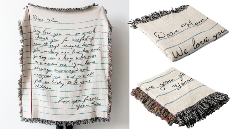 handwritten blanket