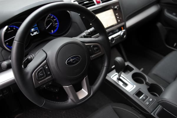 2015 Subaru Outback driver's view