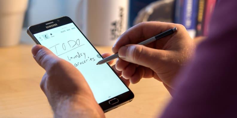 Samsung Galaxy Note 5 Notes