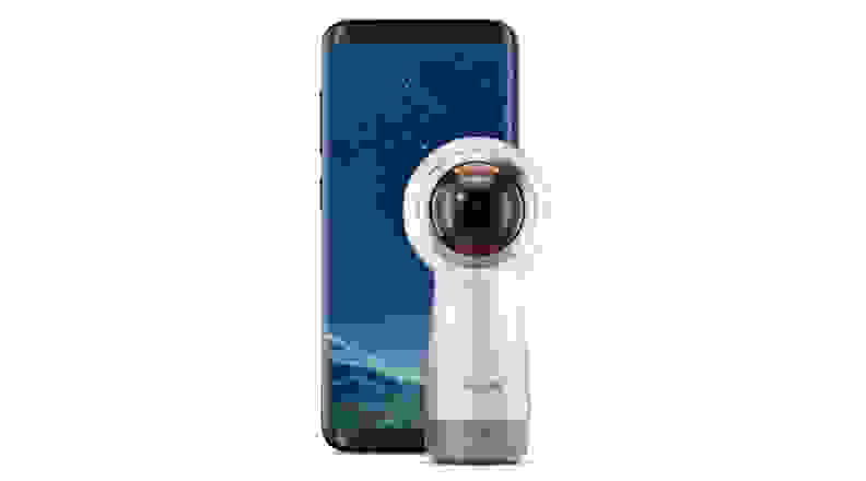 Samsung Gear 360 and S8