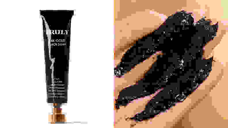 24K Gold Black Soap Impurity Cleanser