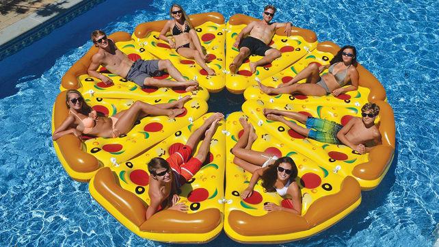 Swimline Pizza Floats