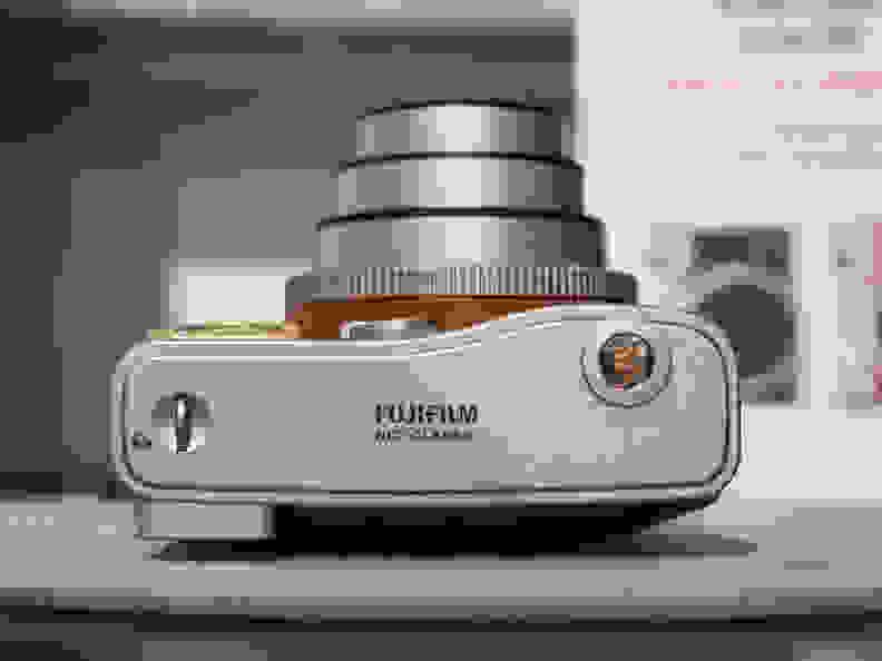 Instax Mini 90 Neo Classic (Brown) –Right Side