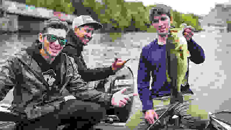 Guys fishing