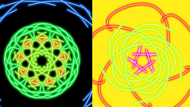 Kaleidoscope Drawing Pad App