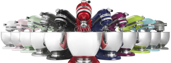 Kitchenaid stand mixer hero