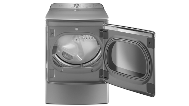 This massive dryer has 9.2 cu.-ft. of room for your laundry