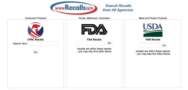 Recalls.gov