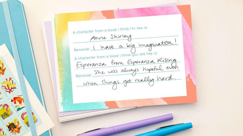 Pen Pal Note Cards