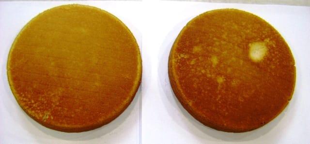 Upper cake bottom standard