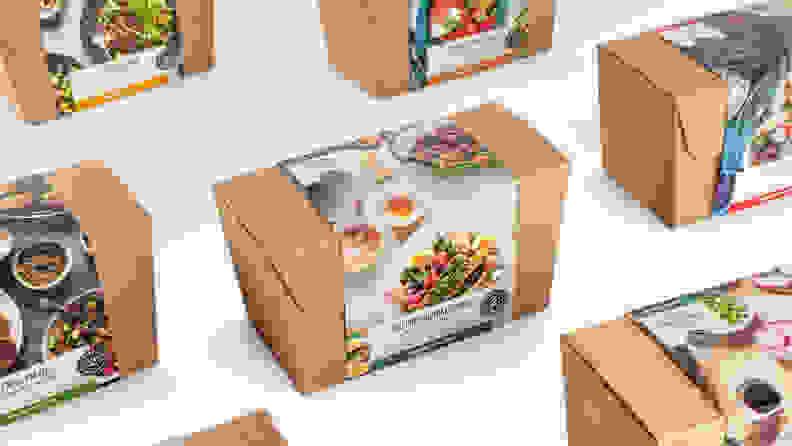 Amazon Meal Kit Boxes