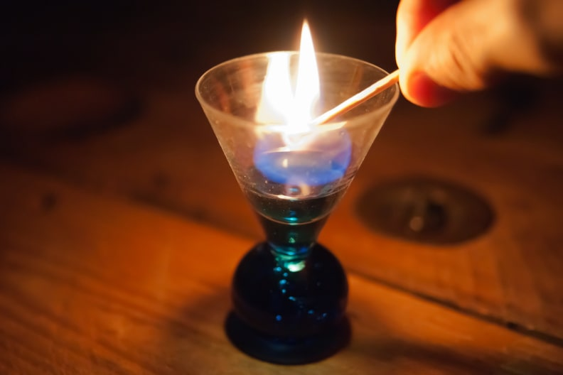 Igniting a Drink