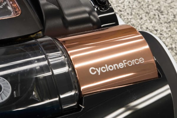 Samsung has appropriated some of the technology, like Cyclone Force, from its full-sized vacuums.