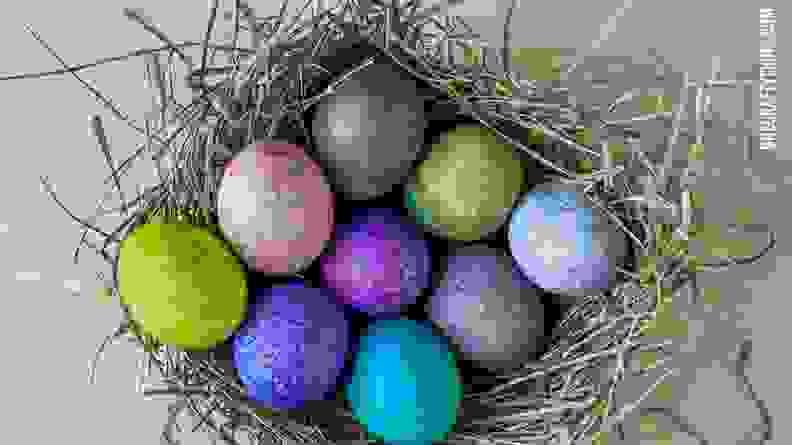 Rice Shake Easter Eggs