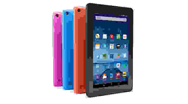Amazon Fire in multiple colors