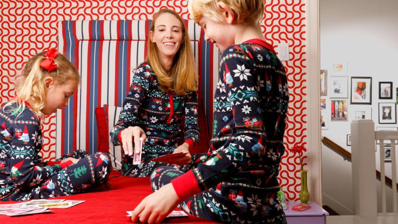 Hanna Andersson Xmas pajamas