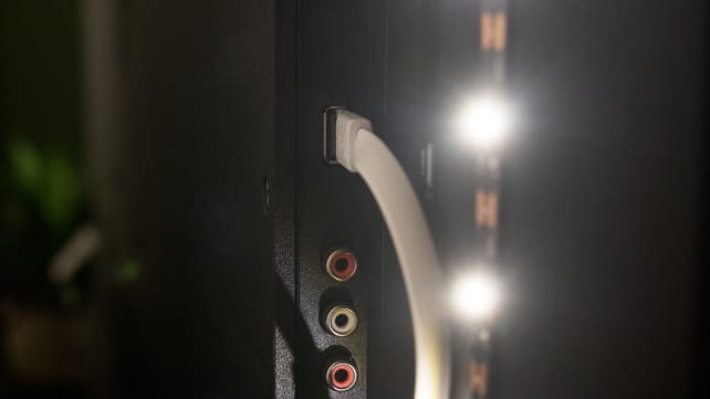 Bias LED light strip powered by USB