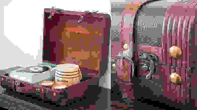 Vintiquewise Decorative Suitcase