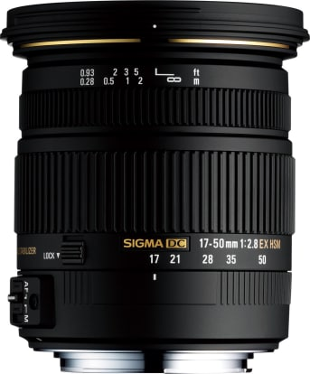 Product Image - Sigma 17-50mm f/2.8 EX DC (OS)* HSM