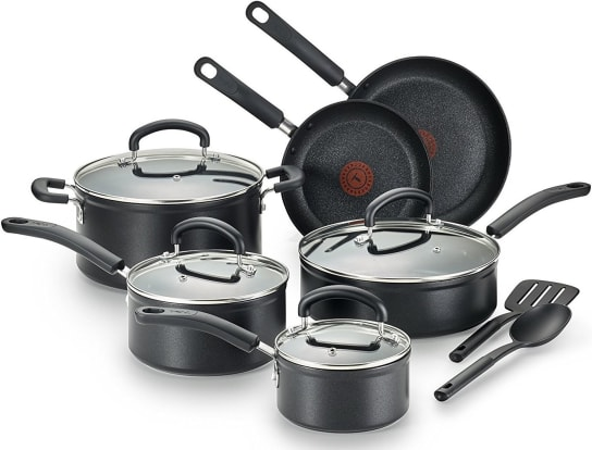 Product Image - T-fal C561SC Nonstick 12-Piece Cookware Set