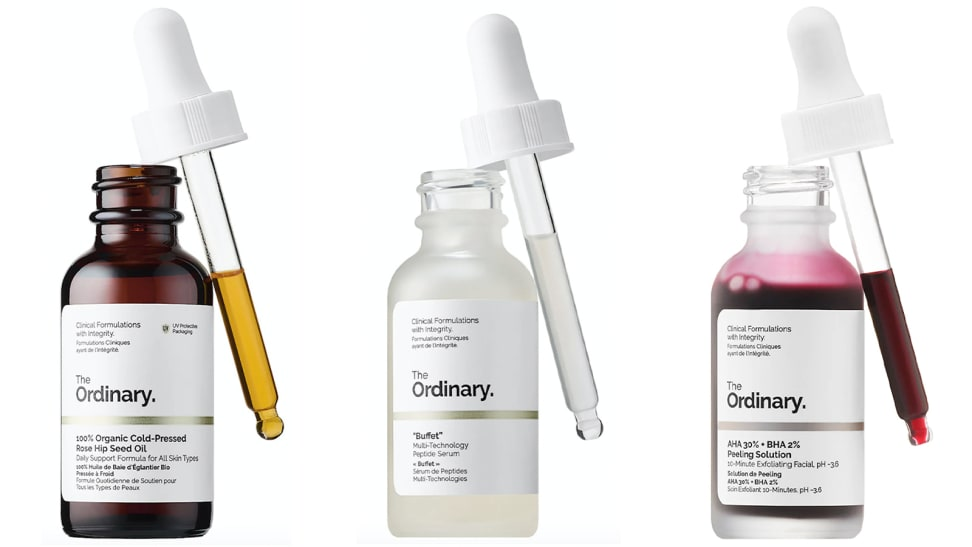 7 skincare products from The Ordinary with over 1,000 reviews