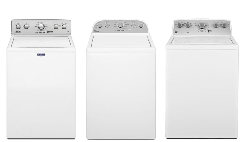 Turns out, all three washers are made in the same factory.