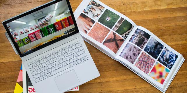 Surface Book splash