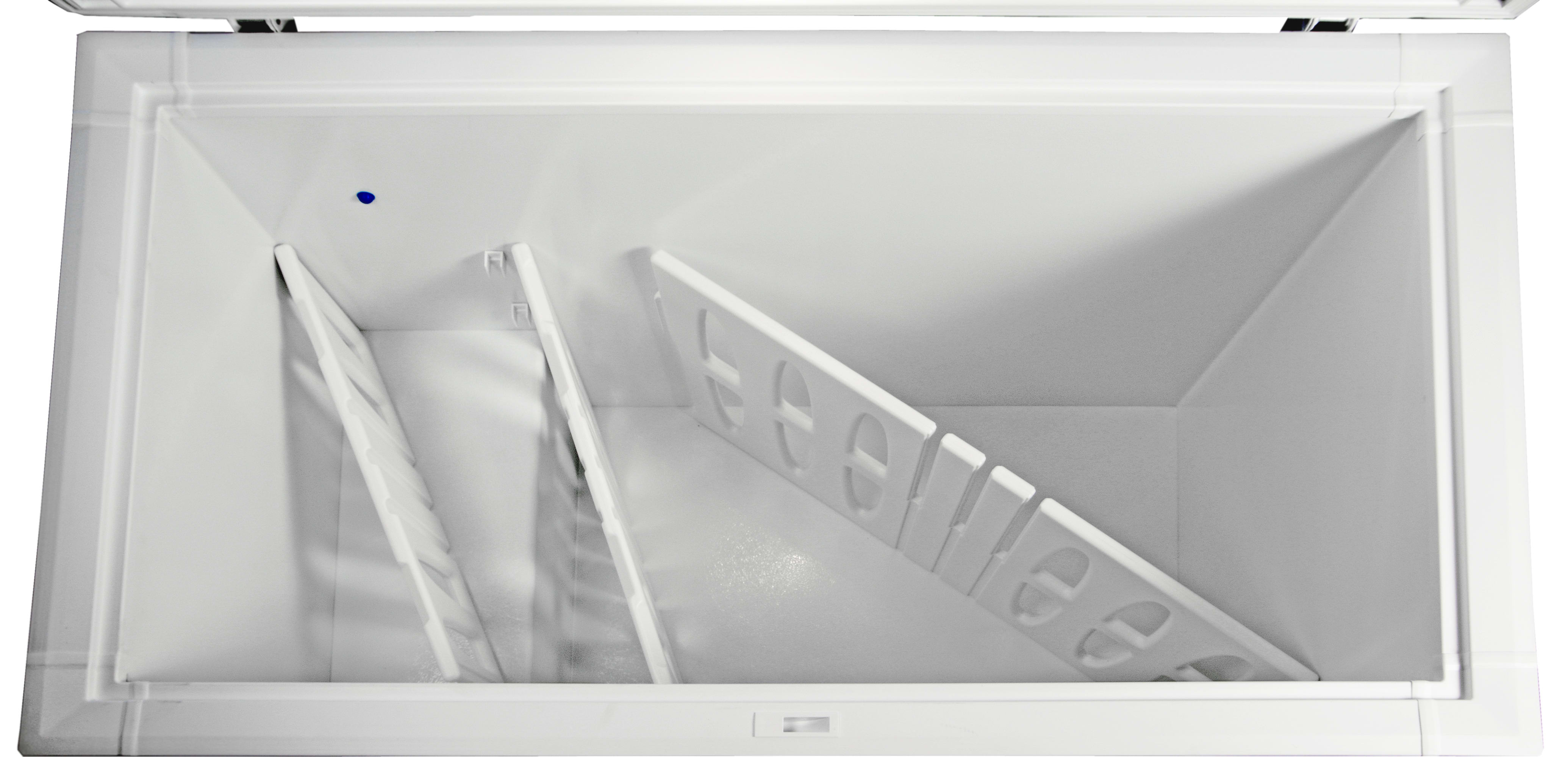 The Kenmore 16542's plastic dividers are adjustable, easy to move, and completely optional.