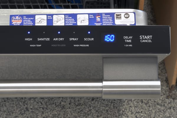 Frigidaire Professional FPID2497RF LCD timer