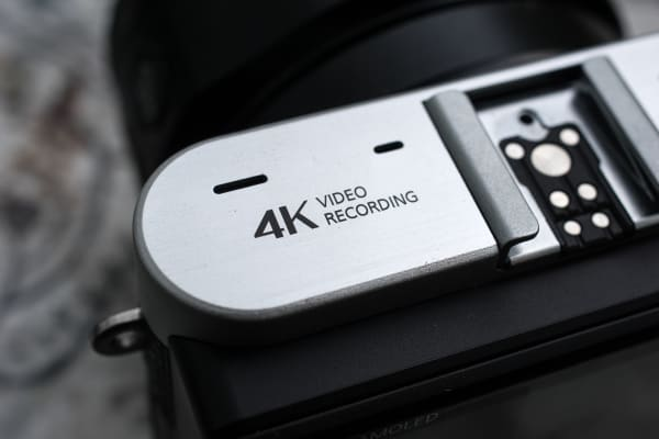The Samsung NX500 is capable of filming 4K video at 24 frames per second.