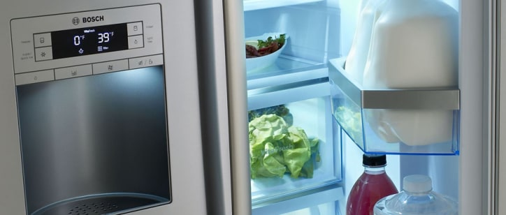 Bosch B26ft70sns Review Reviewed Refrigerators