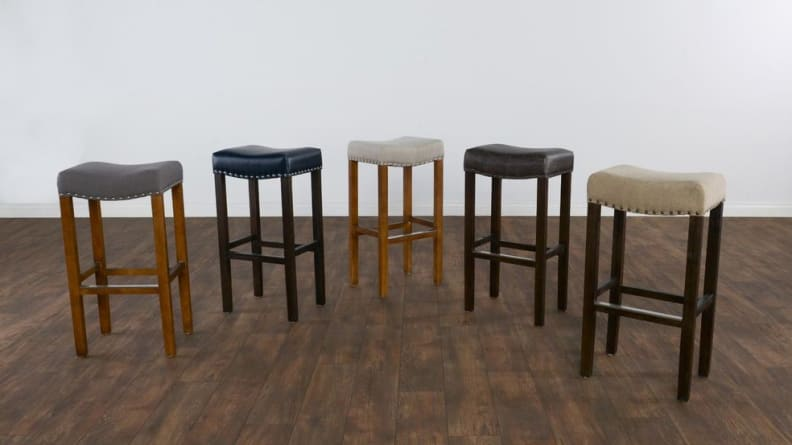 Varville Backless Barstool