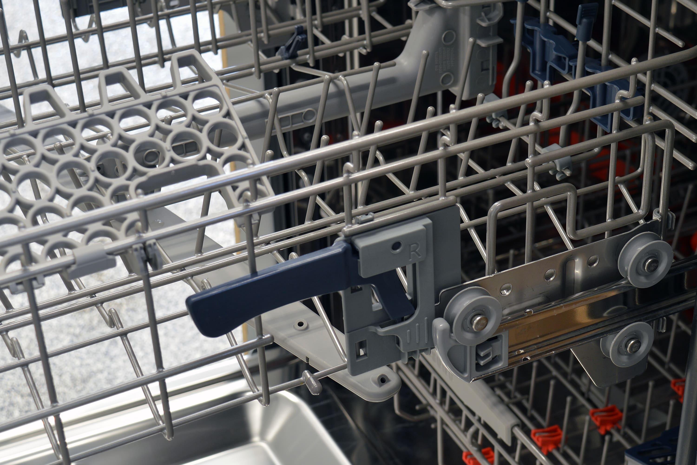 Samsung DW80J7550US height adjustment lever