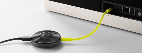 Chromecast audio hero