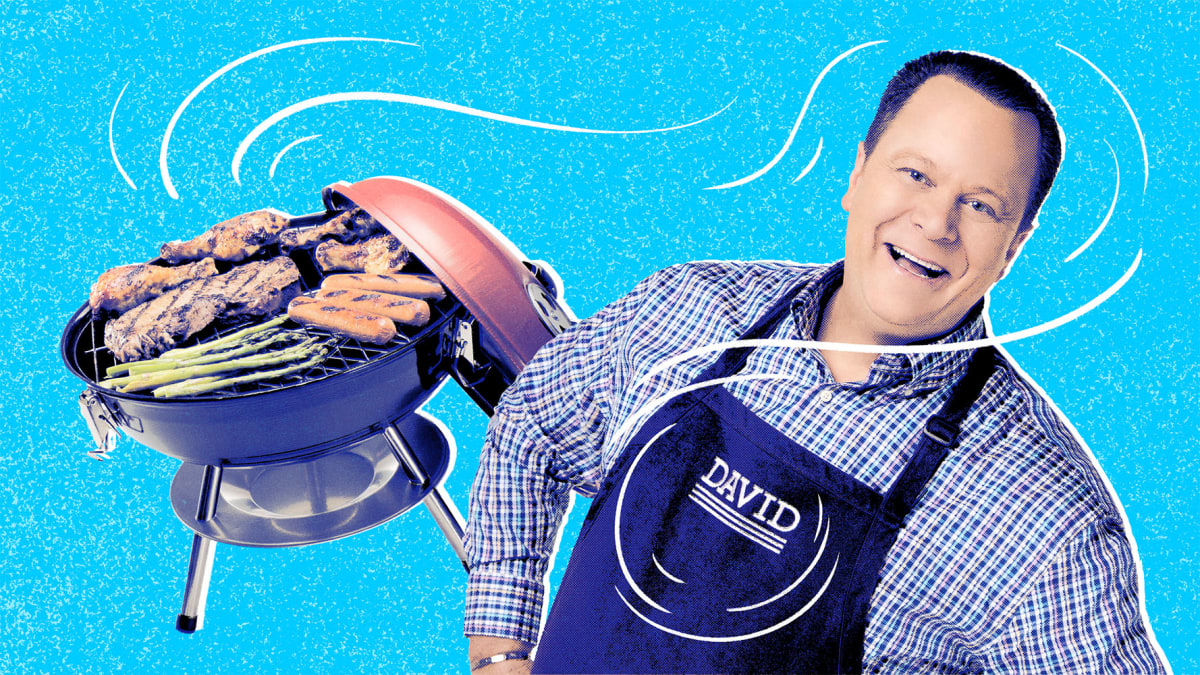 Love to grill? QVC's David Venable swears by these 8 products