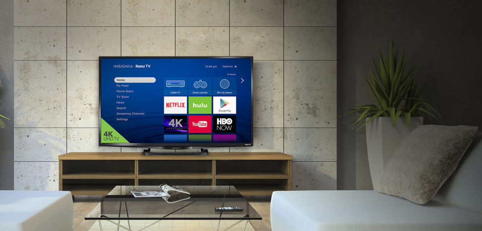 A new 4K UHD Insignia Roku TV
