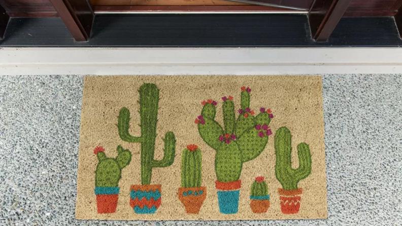 Cacti door mat