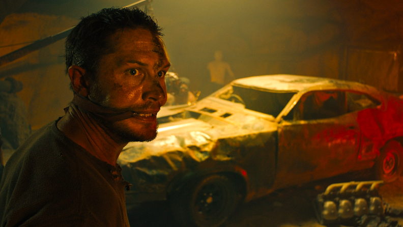 Max escapes a band of thrill-seeking War Boys in 2015's 'Fury Road.'