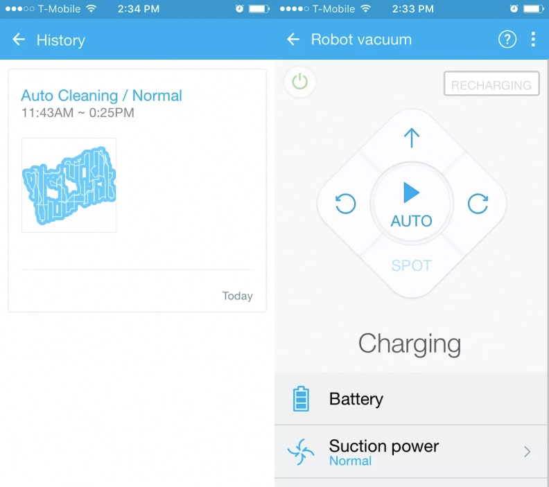 Samsung Powerbot smart features