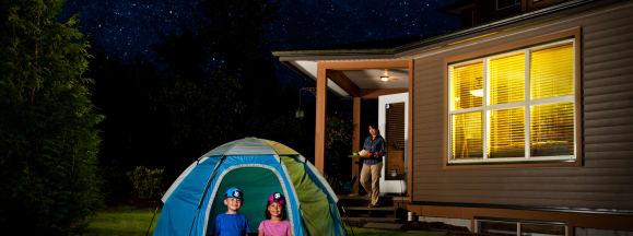 Backyard camping guide for the kids hero 2