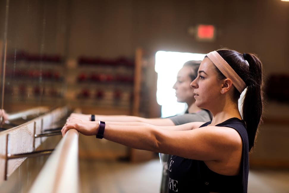 Testing at Pure Barre