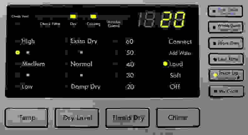Kenmore 81383 Controls