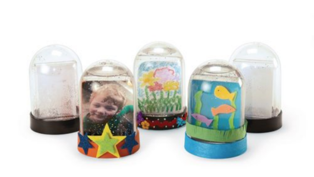 Kids Birthday Party Favors Snow Globes