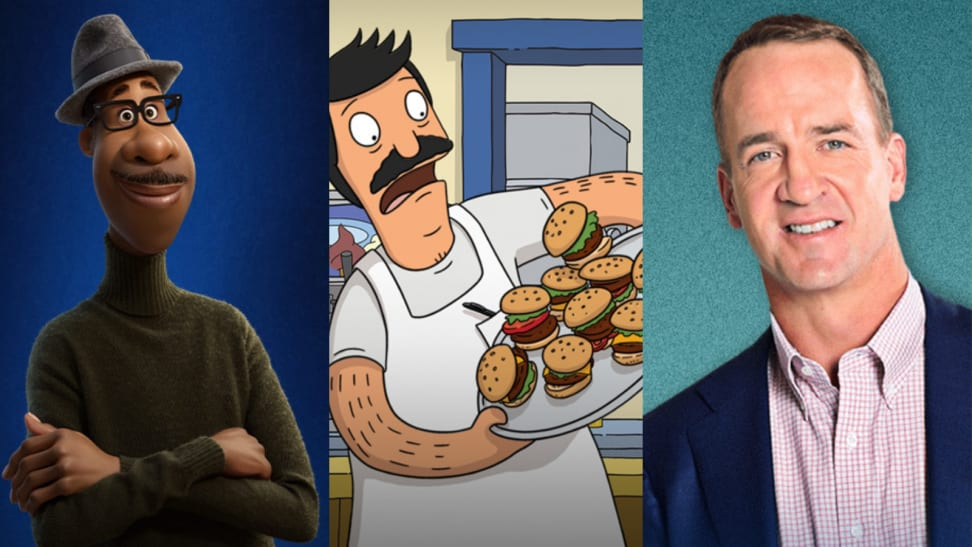 """Screenshots from the movie 'Soul,"""" show 'Bob's Burgers,' and show 'Peyton's Places.'"""