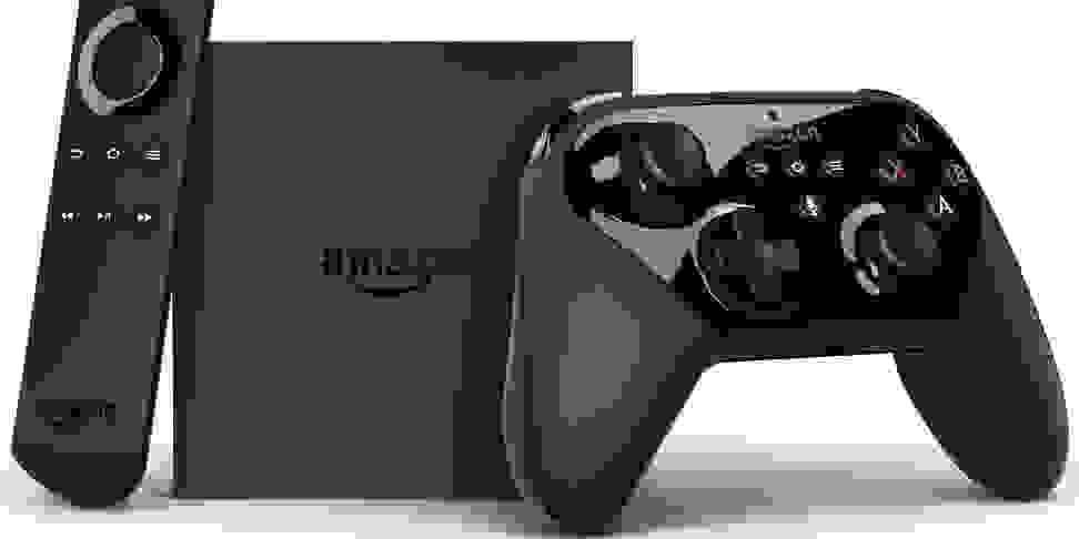 Amazon Fire TV with gaming remote