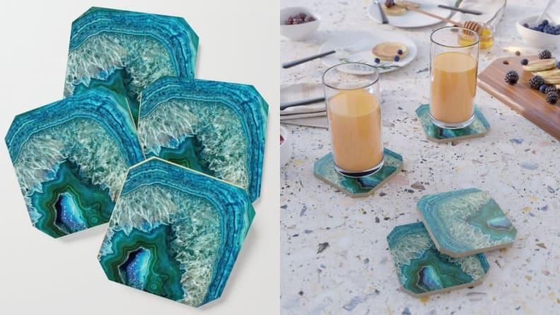 Gemstone Coaster