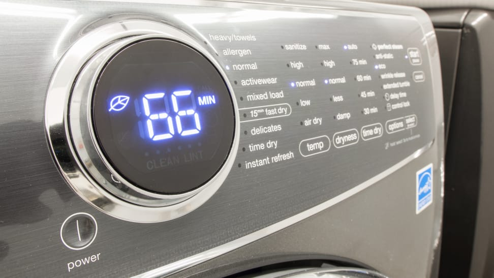 Electrolux-dryer-control-panel