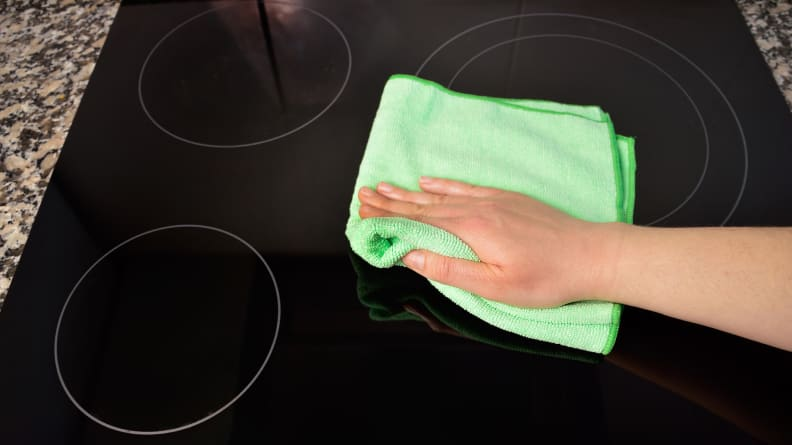 Now your cooktop is clean